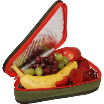 Ecocozie E1T03G02 Reusable Triangle Food Container - Military Green