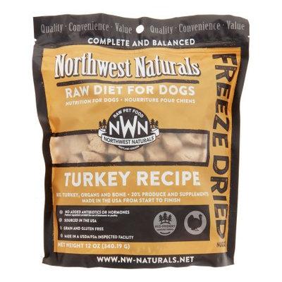 NW Naturals Raw Diet Grain-Free Turkey Freeze Dried Dog Food, 12 Oz