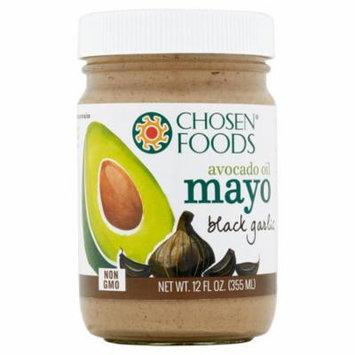 Chosen Foods Mayo Avocado Oil Blk Grlc,12 Oz (Pack Of 6)