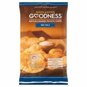 Wholesome Goodness Chip Sea Salt,8.5 Oz (Pack Of 8)