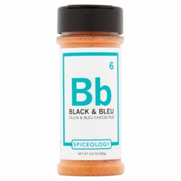 Spiceology Ssnng Rub Black Bleu,3 Oz (Pack Of 6)