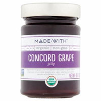 Made With Jelly Grape Org,11 Oz (Pack Of 6)