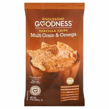Wholesome Goodness Chip Multigrn & Flax,9 Oz (Pack Of 8)