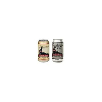 Gosling's Stormy Ginger Beer Soda Variety Pack , Pack of 24, 12 oz Cans, 12 cans of each: Regular and Diet