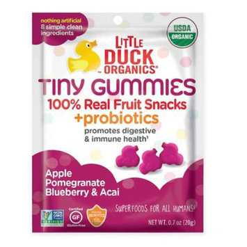Little Duck™ Organics Tiny Gummies Pomegranate, Blueberry & Acai Snack