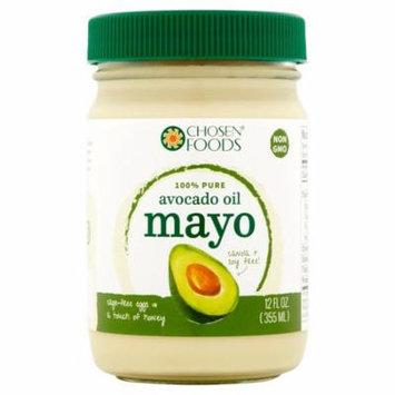 Chosen Foods Mayo Avocado Oil,12 Oz (Pack Of 6)