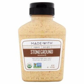 Made With Mustard Stoneground Org,9 Oz (Pack Of 6)