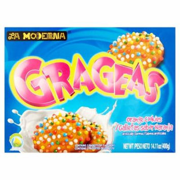 La Moderna Cookies Grageas,14.11 Oz (Pack Of 12)
