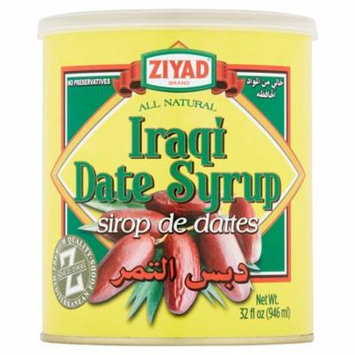 Ziyad Syrup Date,32 Oz (Pack Of 12)
