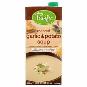 Pacific Foods Soup Rstd Garlic Potato,32 Oz (Pack Of 12)
