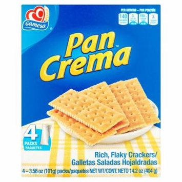Gamesa Cracker Pan Crema,14.2 Oz (Pack Of 12)