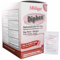 Medique Diphen Commissary Hay Fever & Allergy Relief 400 caplets MS-71145