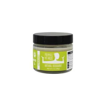 Natural Deodorant Jar Lemongrass - 2 oz. by Primal Pit Paste (pack of 1)