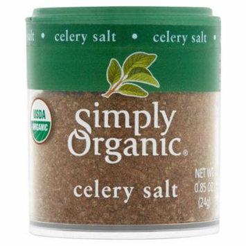 Simply Organic Mini Celery Salt Org,0.85 Oz (Pack Of 6)