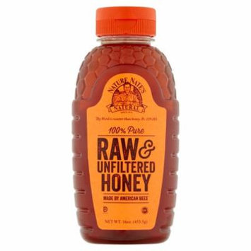 Nature Nates Honey 100% Raw Unfltrd,16 Oz (Pack Of 12)