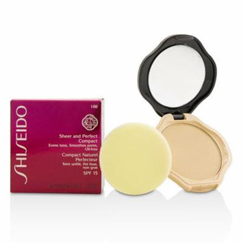 Sheer & Perfect Compact Foundation SPF15 - #I00 Very Light Ivory-10g/0.35oz