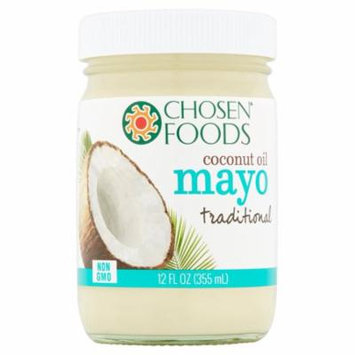 Chosen Foods Mayo Coconut Oil,12 Oz (Pack Of 6)