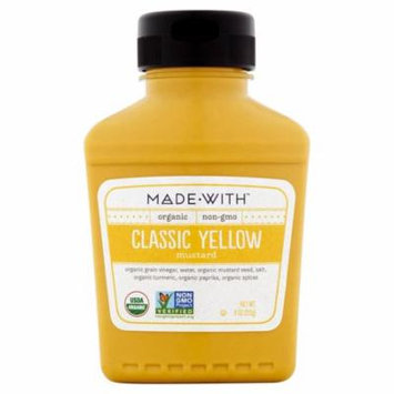 Made With Mustard Yellow Org,9 Oz (Pack Of 6)