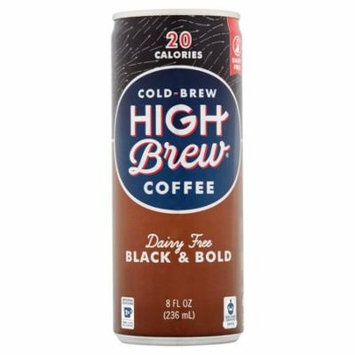 High Brew Coffee Rtd Black & Bold,8 Oz (Pack Of 12)