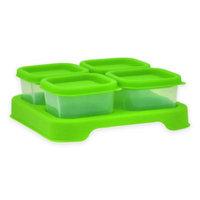iPlay® 2 oz. 4-Piece Baby Food Unbreakable Cube Set in Green
