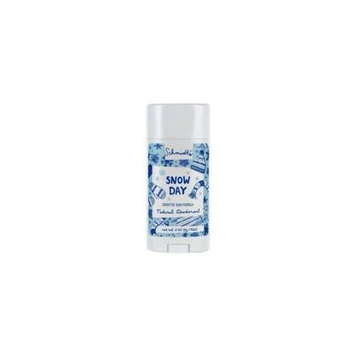 Natural Deodorant Stick Sensitive Skin Formula Snow Day - 3.25 oz. by Schmidt's (pack of 6)