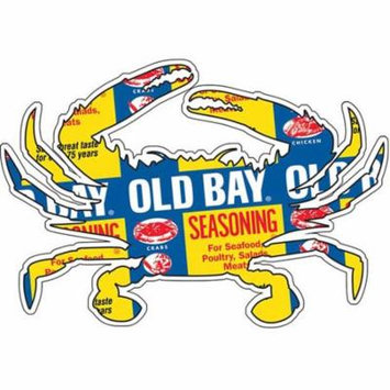 Old Bay Can Pattern Crab Sticker Seasoning Crab Seafood Spice Gift
