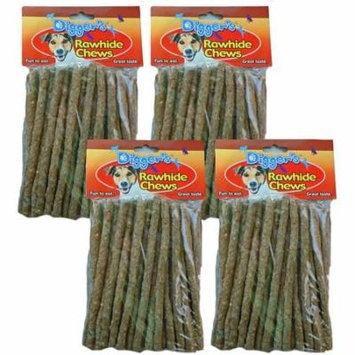 Digger's Rawhide Chews 50 Pack (4 Packs/200 Chews)