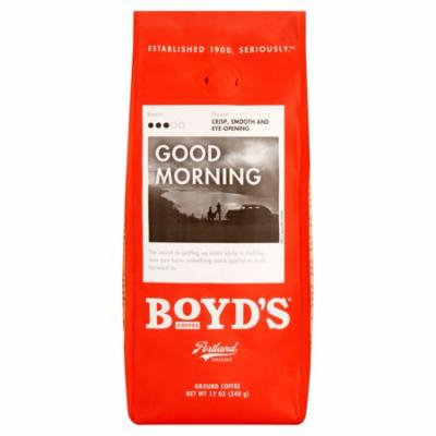 Boyds Coffee Good Morning,12 Oz (Pack Of 6)