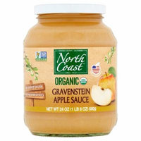 North Coast Applesauce Gravensten Org,24 Oz (Pack Of 12)