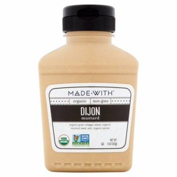 Made With Mustard Dijon Org,9 Oz (Pack Of 6)