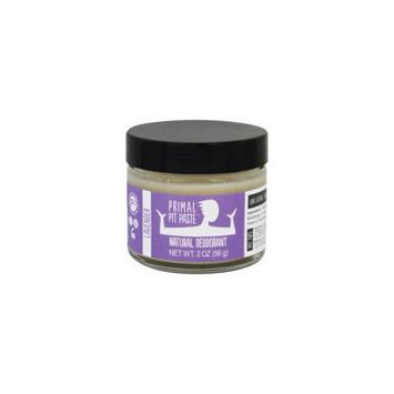 Natural Deodorant Jar Lavender - 2 oz. by Primal Pit Paste (pack of 6)