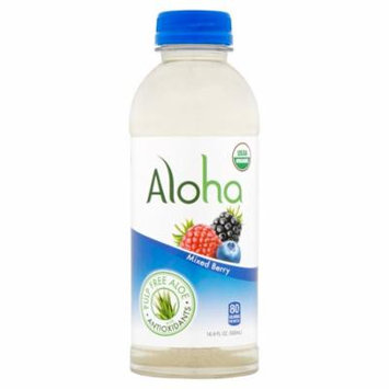 Aloha Water Aloe Mxd Berry Flvr,16 Oz (Pack Of 12)