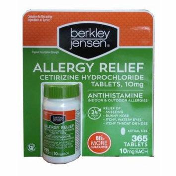 Berkley Jensen Allergy Relief, 365 ct.