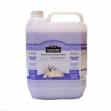 Alpha Dog Series Bright White Formula Shampoo - (1 Gallon)
