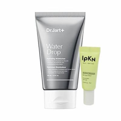 Dr. Jart+ Water Drop Hydrating Moisturizer 100mL/3.3oz + IPKN Suncream Sample
