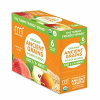 NurturMe Organic Power Blend Ancient Grains Stage 2: Pineapple + Banana + Oatmeal (3.5 oz) - 6 Pack