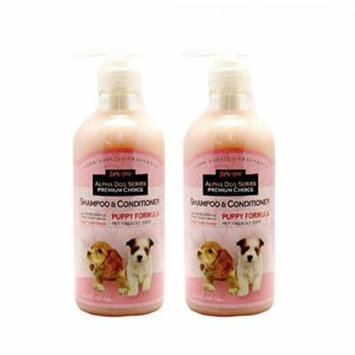 Alpha Dog Series Shampoo&Conditioner(Puppy Formula) - Pack of 2