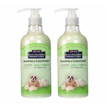 Alpha Dog Series Shampoo&Conditioner(Adult Formula) - Pack of 2