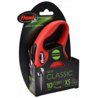 Flexi CORD M 16FT RED 16 ft. Classic Retractable Cord Leash, Red