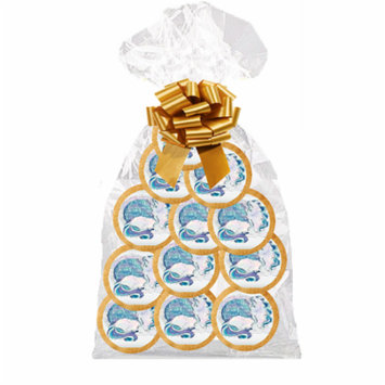 12pack Enchanting Unicorn ndividually Wrapped Decorated Sugar Cookies