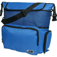 Ao Coolers 18 Pack Back Pack Soft Sided Cooler, Royal Blue