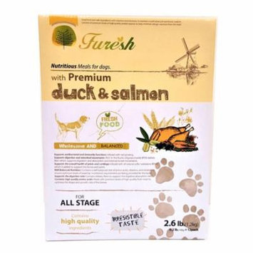 Furesh Dry Dog Food w/ Premium Duck & Salmon, 2.6 Lbs. - (All Stage)