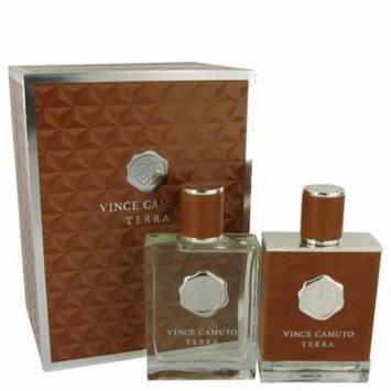 Vince Camuto Terra by Vince CamutoGift Set -- 3.4 oz Eau De Toilette Spray + 3.4 oz After Shave-Men