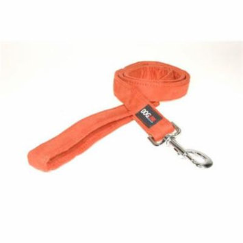 6 ft. L x 1 W in. Comfort Microfiber Dog Leash, Orange