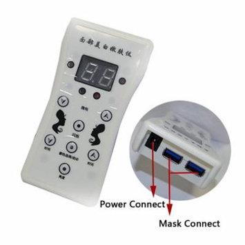 Controller for US 7 Colors LED Light Skin Therapy Mask Face Skin Rejuvenation Facial Neck Mask