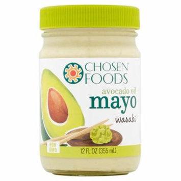 Chosen Foods Mayo Avocado Oil Wasabi,12 Oz (Pack Of 6)