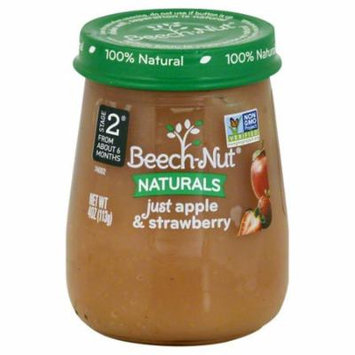 Beech-Nut Naturals Stage 2 Just Apple & Strawberry, 4 oz