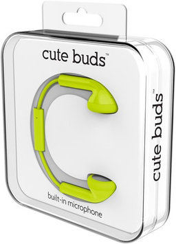 Zeikos Green Cute Earphones W/Mic
