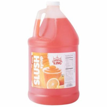 TableTop King 1 Gallon Orange Slushy Syrup - 4/Case