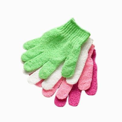 Outtop Shower Gloves Exfoliating Wash Skin Spa Bath Gloves Foam Bath Skid Resistance